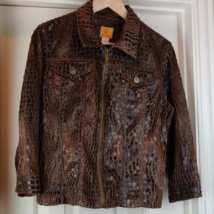 Ruby Rd Dark Brown Jacket